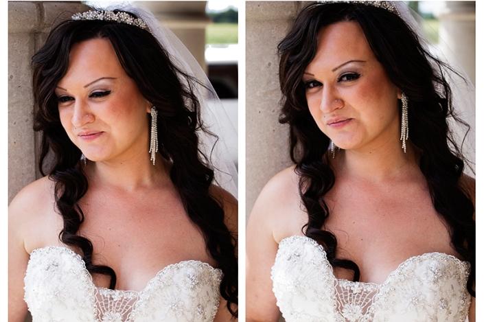 Maria made a beautiful bride!