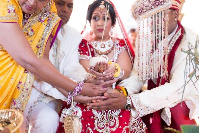 Marsha Raj Hindu Ceremony Farida Alvi   (500)