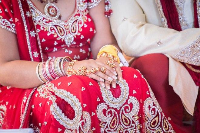 Marsha Raj Hindu Ceremony Farida Alvi   (558)